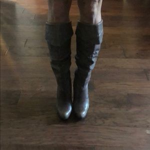 Jessica Simpson brown leather knee high boots 👢